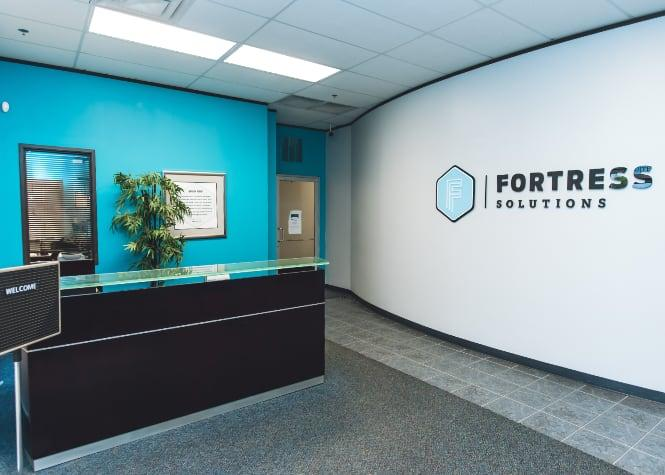 Fortress Solutions office foyer
